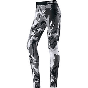 Nike Pro Tights Damen schwarz/grau