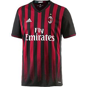 adidas AC Mailand 16/17 Heim Fußballtrikot Herren schwarz