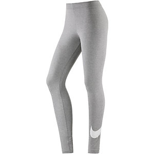 Nike CLUB Leggings Damen grau/melange