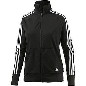 adidas Polyjacke Damen schwarz/weiß