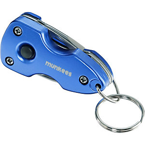 Munkees Multi-Tool LED light Schlüsselanhänger -
