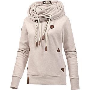 Naketano Reorder VI Sweatshirt Damen beige melange