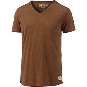 TOM TAILOR T-Shirt Herren braun