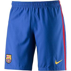 Nike FC Barcelona 16/17 Heim Fußballshorts Herren blau