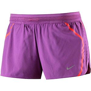 Nike Aeroreact Laufshorts Damen lila