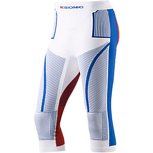 X-Bionic Tights Herren rot/blau