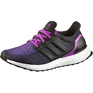 adidas Ultra Boost Laufschuhe Damen schwarz/lila