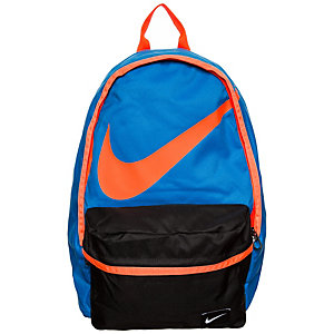 Nike Halfday Back To School Daypack Kinder blau / neonorange