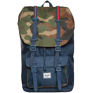 Herschel Little America Daypack dunkelblau / camo