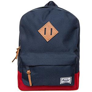 Herschel Heritage Daypack Kinder dunkelblau / rot
