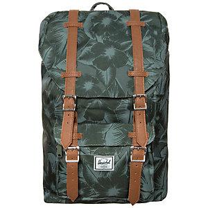 Herschel Little America Mid-Volume Daypack grün / braun