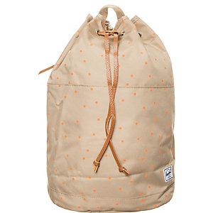 Herschel Hanson Daypack Damen braun / orange