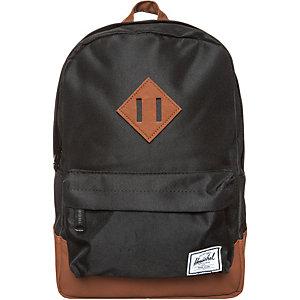 Herschel Heritage Daypack Kinder schwarz / braun