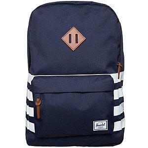 Herschel Heritage Daypack dunkelblau / weiß