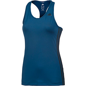 adidas Tanktop Damen blau/schwarz