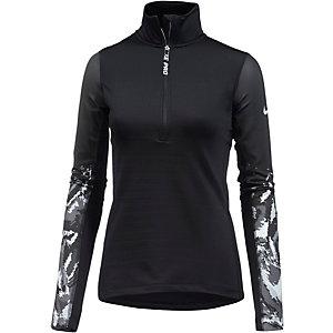 Nike Pro Funktionsshirt Damen schwarz/weiß
