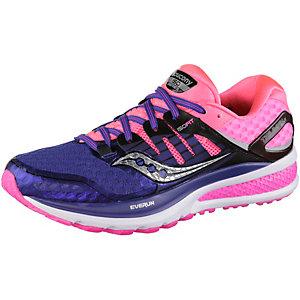 Saucony Triumpf ISO2 Laufschuhe Damen lilablau/pink