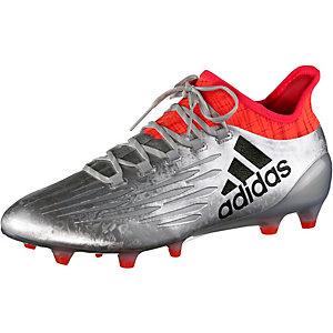 adidas X 16.1 FG Fußballschuhe Herren silber/rot
