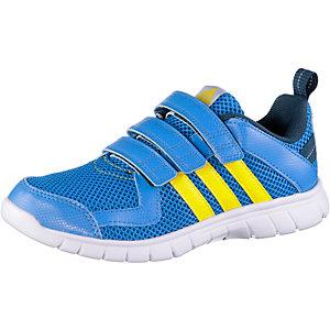 adidas STA Fluid Hallenschuhe Kinder blau/gelb
