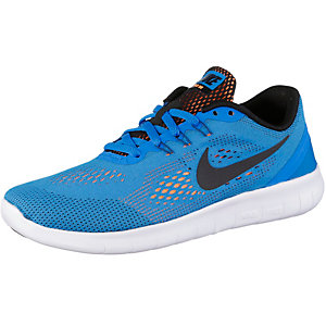 Nike FREE RN Laufschuhe Jungen blau/schwarz
