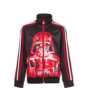 adidas Star Wars Firebird Sweatjacke Kinder schwarz / rot