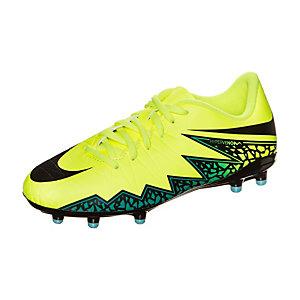Nike Hypervenom Phelon II Fußballschuhe Kinder neongelb / türkis