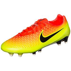 Nike Magista Opus Fußballschuhe Herren orange / neongelb
