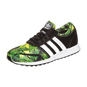 adidas Los Angeles Sneaker Kinder schwarz / grün