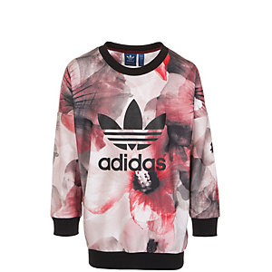 adidas Allover Print Sweatshirt Mädchen rot / pink / schwarz