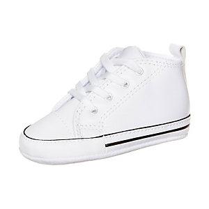 CONVERSE Chuck Taylor First Star High Sneaker Kinder weiß