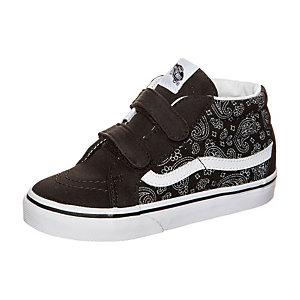 Vans Sk8-Mid Reissue V Bandana Sneaker Kinder schwarz / weiß