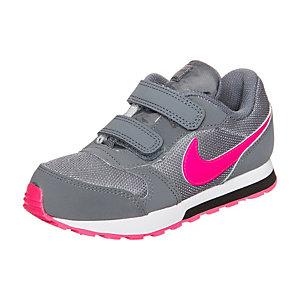 Nike MD Runner 2 Sneaker Mädchen grau / pink