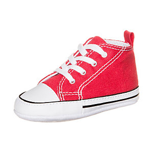 CONVERSE Chuck Taylor First Star Sneaker Kinder rot / weiß