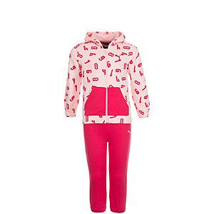 PUMA Style Minicats Jogger Trainingsanzug Mädchen rosa / pink