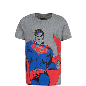 PUMA Fun Superman T-Shirt Kinder grau / rot / blau