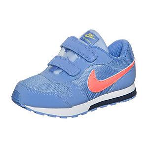 Nike MD Runner 2 Sneaker Mädchen hellblau / orange