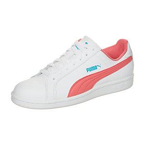 PUMA Smash FUN L Sneaker Kinder weiß / rosa