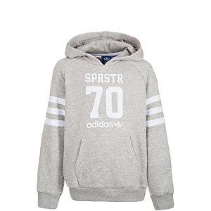 adidas Logo Essentials Sweatshirt Kinder grau / weiß