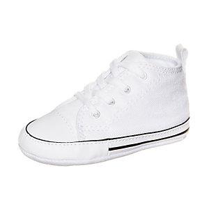 CONVERSE Chuck Taylor First Star Sneaker Kinder weiß