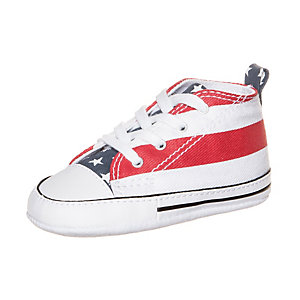 CONVERSE Chuck Taylor First Star Sneaker Kinder rot / weiß / blau