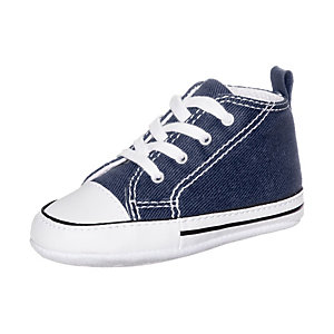 CONVERSE Chuck Taylor First Star Sneaker Kinder blau / weiß