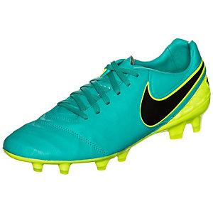 Nike Tiempo Legacy II Fußballschuhe Herren türkis / neongelb