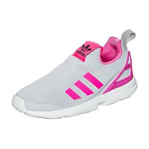 adidas ZX Flux EL I Sneaker Kinder grau / pink / weiß
