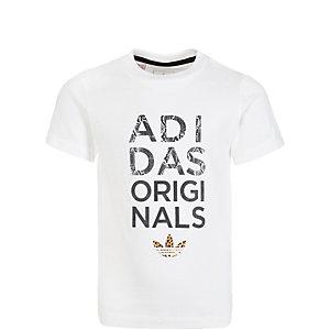 adidas Celebration T-Shirt Kinder weiß