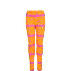 PUMA Sesamstraße Trainingshose Mädchen orange / pink