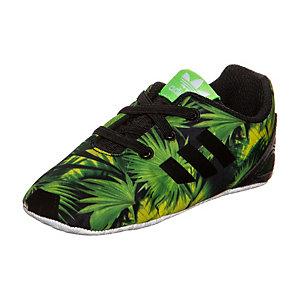 adidas ZX Flux Crib Sneaker Kinder grün / schwarz