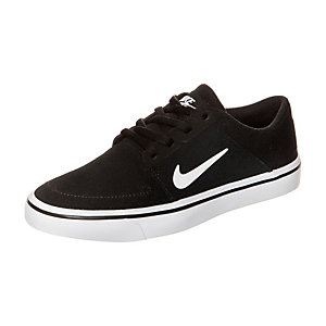 Nike Portmore Sneaker Jungen schwarz / weiß