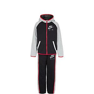 Nike Brushed Fleece Flash Trainingsanzug Jungen schwarz / grau / rot