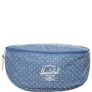 Herschel Sixteen Gürteltasche hellblau / weiß