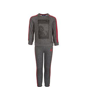adidas Star Wars Darth Vader Trainingsanzug Kinder grau / rot